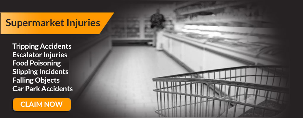 Shop and Supermarket Injury and Accident compensation.